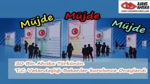 20 Bin Ahıska Türkü Türkiye Vatandaşı Oluyor..