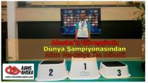 Ahıska'lı Güreşçimiz Dünya Şampiyonasından Altın Madalya İle Döndü