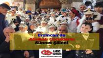 Erzincan'da Ahıskalı Çocukların Sünnet Şöleni
