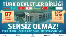 Türkbirdev, 7 Temmuz'daki Türkdev Kurultayı İçin Hazırlıklarını Sürdürüyor