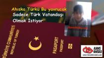 Babası Ölüm Döşeğinde olan bu yavrucağın tek dileği babasının son isteği olan Türk Vatandaşlığı.