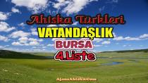 Bursa 4.Liste (Ahıska Türkleri Vatandaşlık)