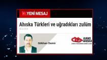 Ahıska Türkleri ve uğradıkları zulüm