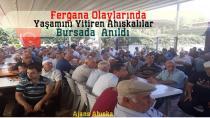 Fergana Olaylarında Yaşamını Yitiren Ahıskalılar Bursada Anıldı